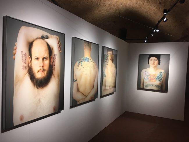 Haut, Stein, Ausstellung, Ganslmeier, EXIT