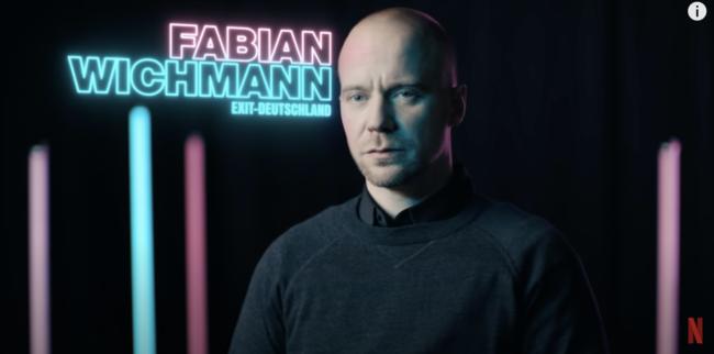 Fabian Wichmann von EXIT-Deutschland